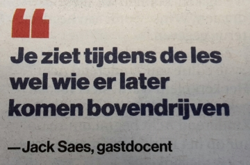 Interview Jack Saes gastdocent Teclab