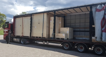 First shipments from TAQ premises