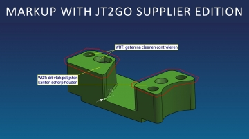Markup with JT2Go Supplier Edition