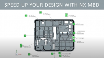 Speed up your design with NX MBD