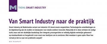 'Van Smart Industry naar de praktijk'