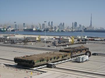 Dubai Shiplift Side Transfer System @ Bosch Rexroth starts