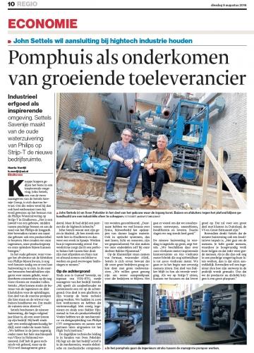 Publication Eindhovens Dagblad 2016.08.09