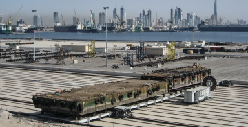 Dubai SHIPLIFT SIDE TRANSFER SYSTEM 2008.