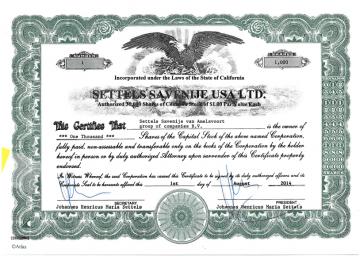 USA Ltd incorporated